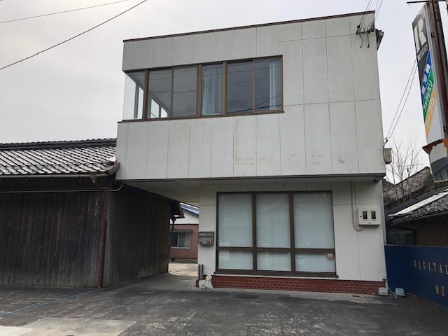 甲賀市 近江鉄道水口城南駅徒歩13分 2F約13坪事務所テナント