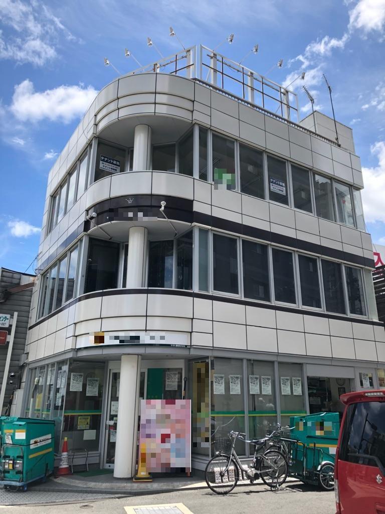 大津市 JR大津駅徒歩2分、通り沿いに面した3階約18坪テナント。