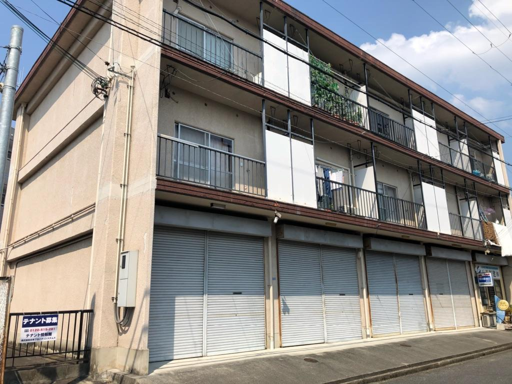 大津市 JR瀬田駅徒歩10分 1階12坪事務所テナント 軽飲食相談可 駐車場複数台確保可能です♪