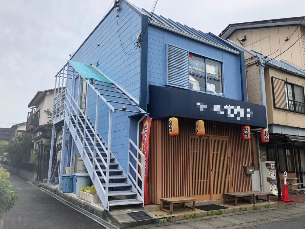 大津市 JR湖西線堅田駅徒歩12分、2階約11坪テナント スケルトン