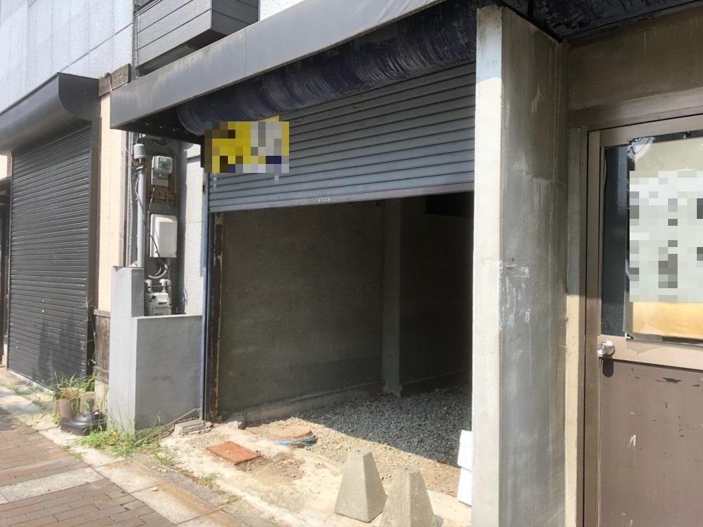 大津市 JR大津駅徒歩7分 約7坪テナント 中央大通り沿い、飲食店舗可能。