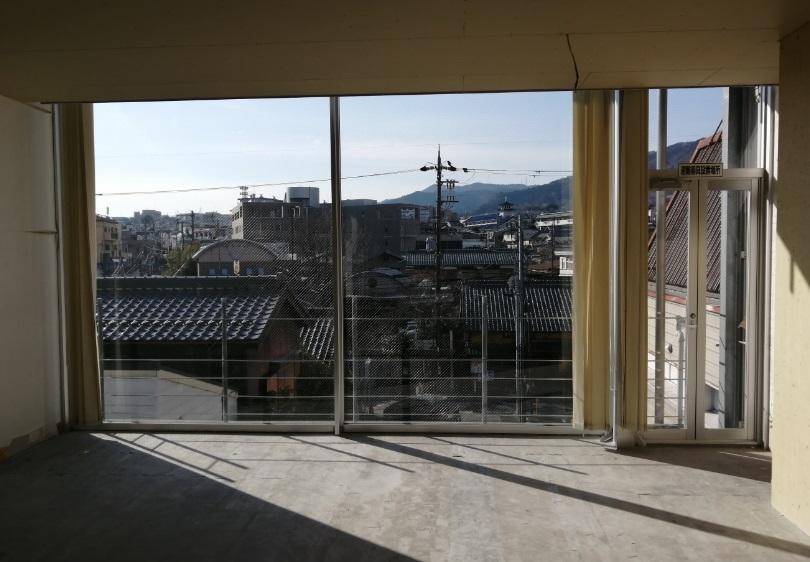 大津市 JR膳所駅徒歩5分 ときめき坂沿い3F約43坪テナント 商業施設近隣!