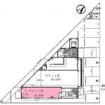 大津市 JR瀬田駅徒歩5分 新築テナントビル、1階約9坪テナント区画