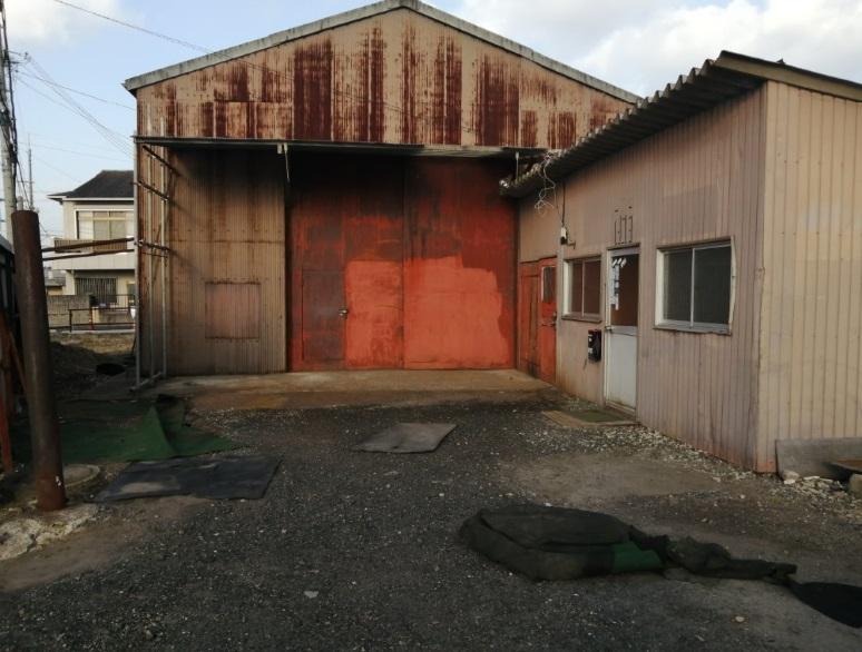 草津市 資材置場向き倉庫