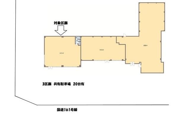 大津市 下坂本161号線沿い1階約36坪テナント