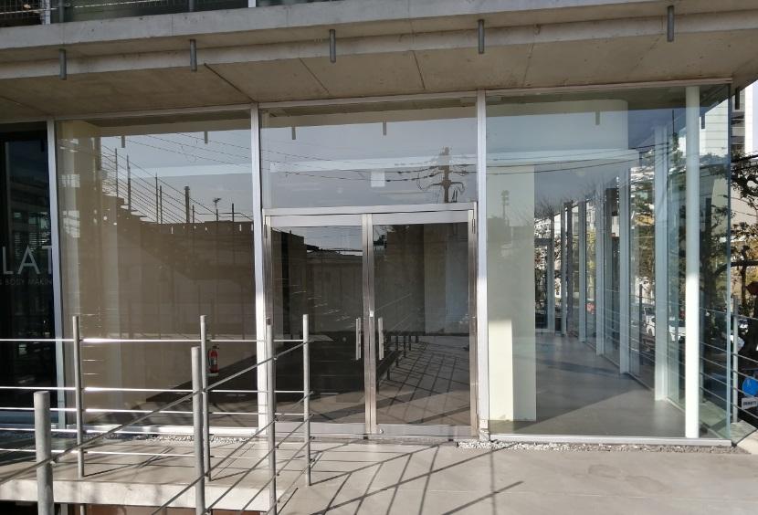 大津市 JR膳所駅徒歩5分 ときめき坂沿い2F約28坪事務所仕様テナント 商業施設近隣!