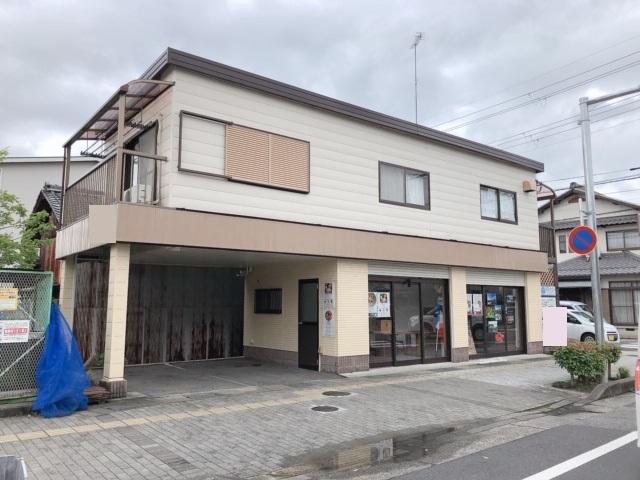 守山市 JR守山駅徒歩10分 すこやか通り沿い1階約9坪テナント 駐車場2台